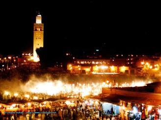 Marrakech destination reve jet set pedophilie grandeur mepris
