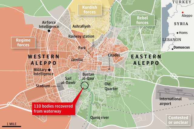 aleppo Graphic shock syria war