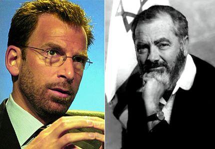 Edgar Bronfman, ancien président du Congrès juif mondial et le rabbin d'extrême droite, Meir Kahane, assassiné en 1990.